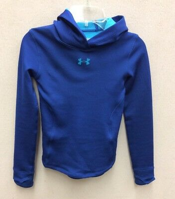 Girl's size youth small lightweight Fitted Cold Gear hoodie by Under Armour :)