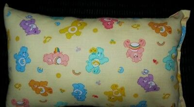 NEW Care BearsTravel Pillow Funshine Love A Lot Cheer Bedtime Friend Wish Bear