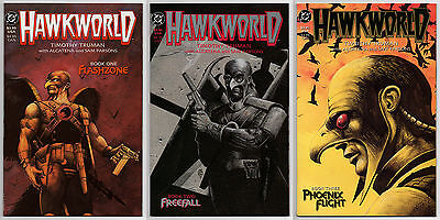 Hawkman Hawkworld Limited Series #1 #2 #3 - 1989 Cover Price - 9.6 Or Better