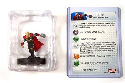 Heroclix Thor The Dark World, Thor #001, Booster Fresh in tray