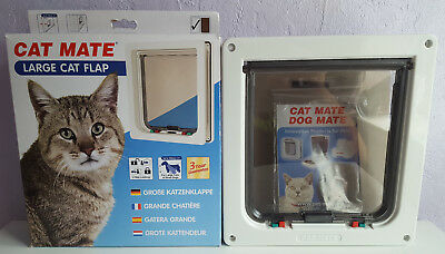Cat Mate Large Cat Flap, Boxed & Unused.