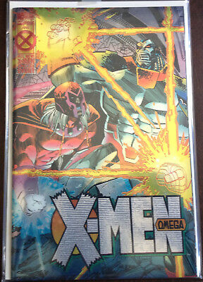 "Marvel's X-Men Omega Issue #1 Foil Cover  ""Special Event"" Endings"