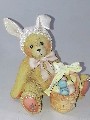 "New In Box Cherished Teddies Bessie ""Some Bunny Loves You"" (916404)"