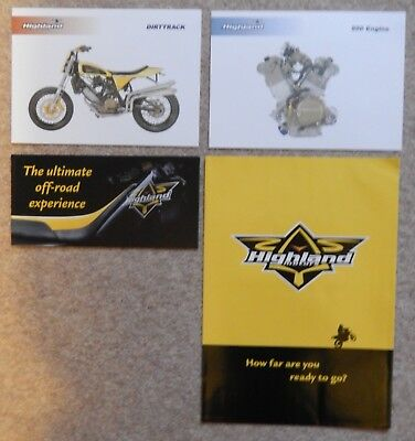 Highland Motorcycle Brochures