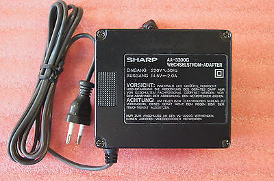 SHARP Wechselstrom Adapter AA-3300G UADP0015GEZZ