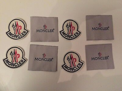 moncler patch de rechange ecusson badge X4
