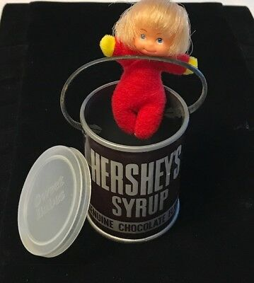 Hershey Syrup 1982 Sweet Babes Collectible Toy Miniature by Nasta Inc.