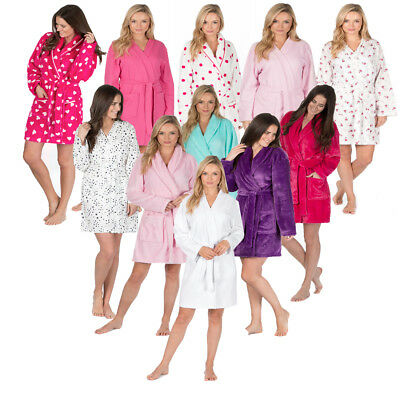 Ladies Novelty Dressing Gown Bed Coat Shawl Snuggle Top By  Forever Dreaming
