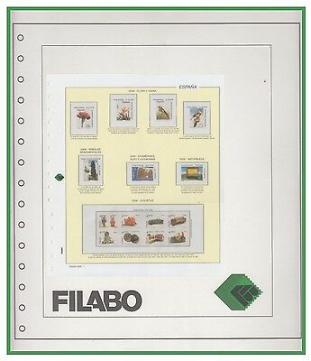Hojas Spain Filabo - Without protectors - 1950/1965 (unmounted)