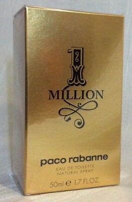 Paco Rabanne 1 Million Men 50 ml EDT (EUR 101,60 / 100 ml)