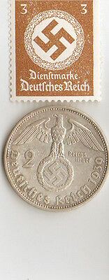*-Large  LOT of  WW2 - *us  and  *german  Stamps  and  COINS