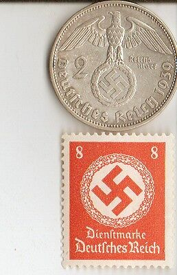 -*LOT of  WW2 - *us and *german  Stamps and COINS +