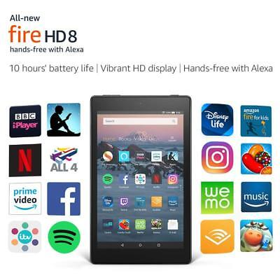 New Amazon Kindle Fire HD 8 Tablet with Alexa,16GB Latest Model