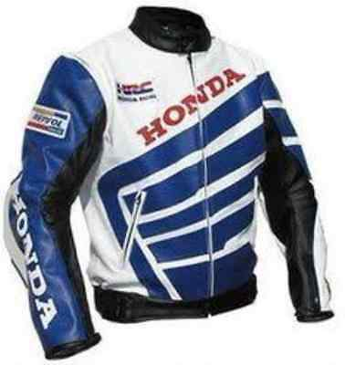 HONDA-REPSOL-HRC Motorcycle Leather Jacket Motorbike Racing,CE,ARMOUR-NEW(Rep)