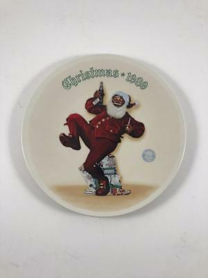 Knowles collector plate Christmas 1989 Norman Rockwell Jolly Old St. Nick