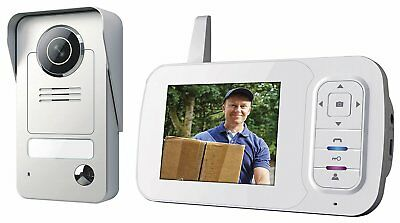 Smartwares VD38W Video intercom set – Wireless – Portable indoor unit – Color