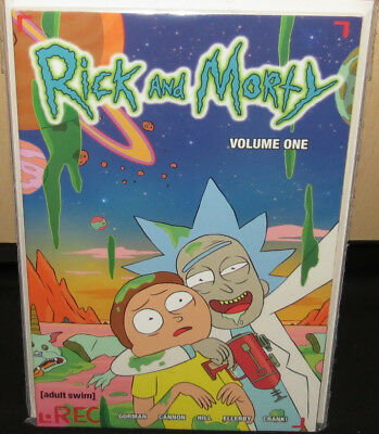 Rick and Morty TBP Volume One (Oni Press Comics Issues #1-5)