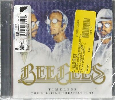 The Bee Gees Timeless All-Time Greatest Hits (2017) Cd Brand New Sealed
