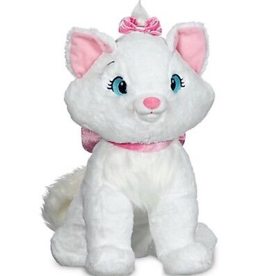Disney Store Marie Aristocats Large Plush Soft Toy Cat Kitten Christmas Gift
