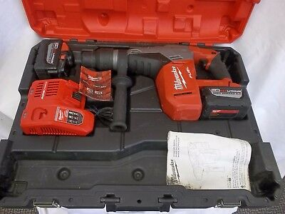 Milwaukee M18 Fuel 18V Cordless 1-9/16 In Sds-Max Rotary Hammer Kit 2717-22Hd