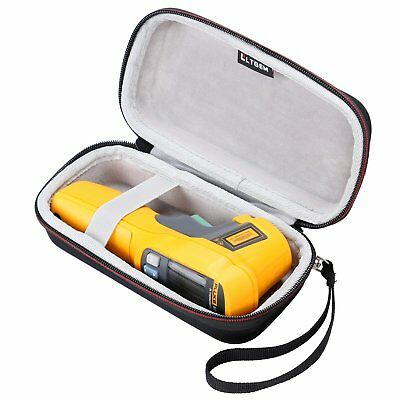 LTGEM EVA Case For Fluke 62 / 64 / 59 Max+ Infrared IR Thermometer Black Pouch