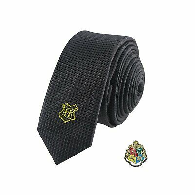 Harry Potter : Deluxe HOGWARTS TIE with Pin Set from Cinereplicas