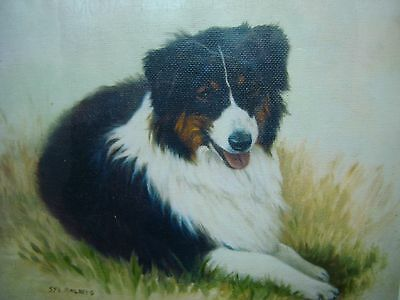 "BLACK TRI AUSTRALIAN SHEPHERD GICLEE PRINT BY SYD MAILBERG 8""x10"" MADE IN USA"