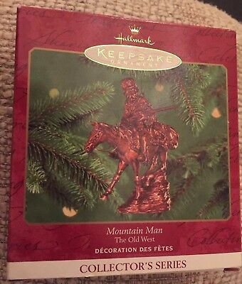 Halmark Keepsake Ornament Mountain Man The Old West Decoration  collector series