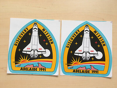 Collectable Stickers - Discovery Mission Adelaide 1991