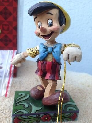"DISNEY PINOCCHIO - Jim Shore -""LIVELY STEP - 4010027"