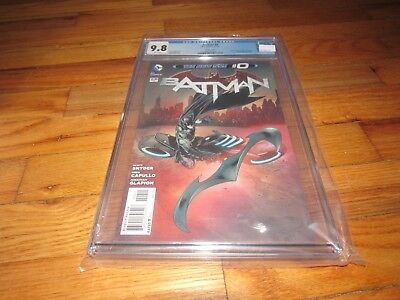 BATMAN 0 CGC 9.8 Variant cover by ANdy Clarke greg capullo scott snyder NEW 52