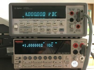 Agilent-HP-Keysight 34401A DMM, 6½ Digit *Tested* S/N MY41016804