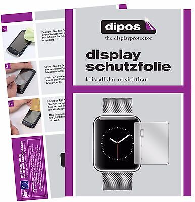 6x Apple Watch Series 2 42mm Schutzfolie klar Displayschutzfolie Folie dipos