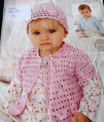 Cardigan / Jacket / crochet Pattern for baby / child.  41 up to 66cm