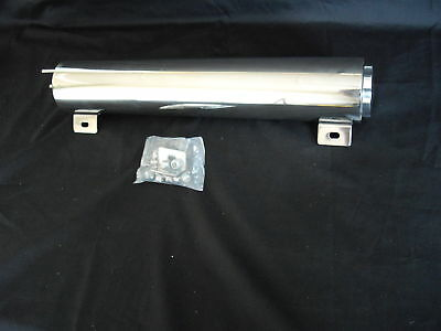 Overflow Tank Stainless Steel 10 Inch X 3 Inch