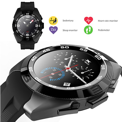 Bluetooth Smart Watch Heart Rate Monitor Pedometer Sleep Tracker Android IOS New