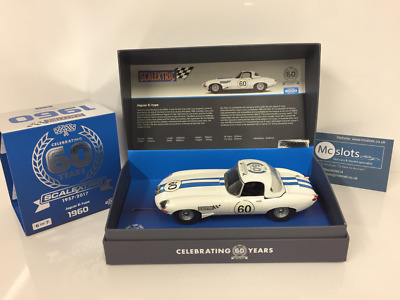 Scalextric C3826A Jaguar E Type 60th Anniversary Edition New Boxed