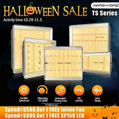 Mars Hydro Reflector 300W~1000W LED Grow Light Full Spectrum Veg Bloom Indoor