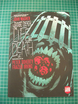 Judge Dredd 2000AD graphic novel judge death the life and death of