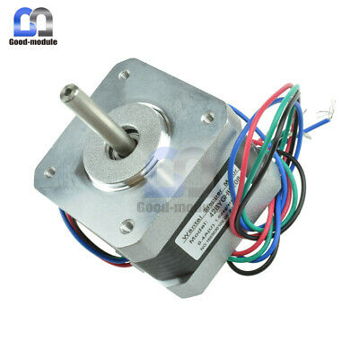 NEMA17 42BYGHW208 Stepper Motor 36oz-in/2600g/cm 3D Printer RepRap Medel Prusa G