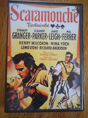 Dvd **Scaramouche ** Granger Parker Leigh Sydney Cape Epee