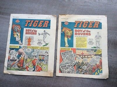 Tiger Comics dated 6th and 20th May 1961