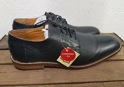 27..Mens Williams & Browns Leather Navy  Shoes Size 15
