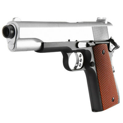 Well M1911 A1 Vollmetall Springer 6mm BB Two-Tone Softair Pistole Airsoft