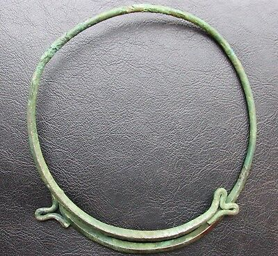 Ancient Viking Bronze Neck Torc RARE!!!
