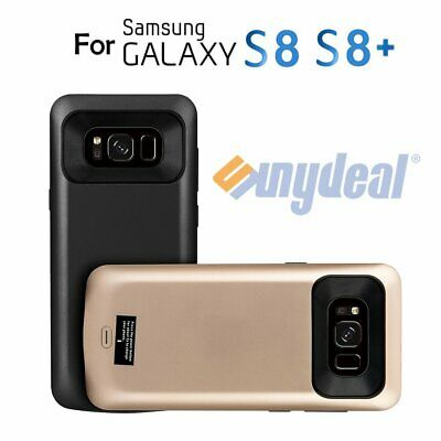 8500mAh Backup Charger For Samsung S7 Edge S8+ External Power Bank Battery Case