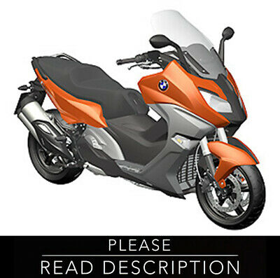 BMW C650 SPORT C650 GT Service Workshop Shop Manual 2015 2016 2017 C 650
