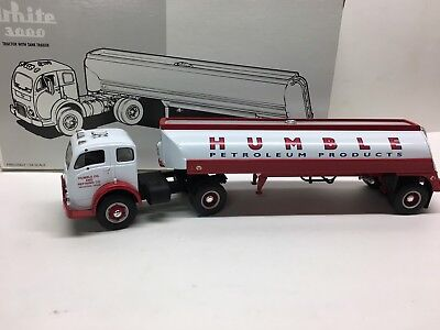 First Gear 1953 White 3000 Humble Oil Tanker 1/34th New in Box item # 1935