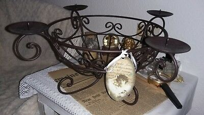 adventskranz metallring shabby 2 st ck eur 10 00. Black Bedroom Furniture Sets. Home Design Ideas