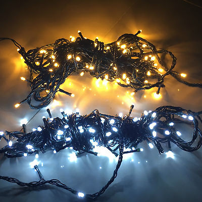 100leds weihnachten lichterkette beleuchtung party innen weihnachtsbaum deko eur 2 99. Black Bedroom Furniture Sets. Home Design Ideas